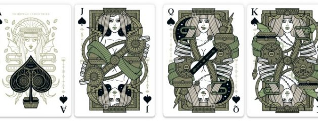 Giovanni Meroni's Eva Playing Cards